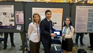 Seniors Anthony Wu and Lark Moreno to present invention at biophysics conference