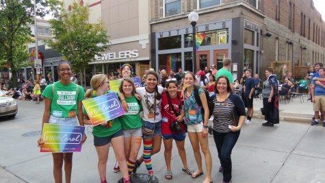 Uni students take Pride