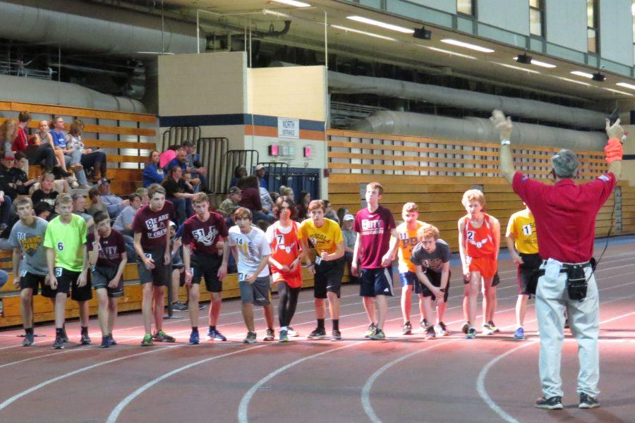 Uni track and field starts season
