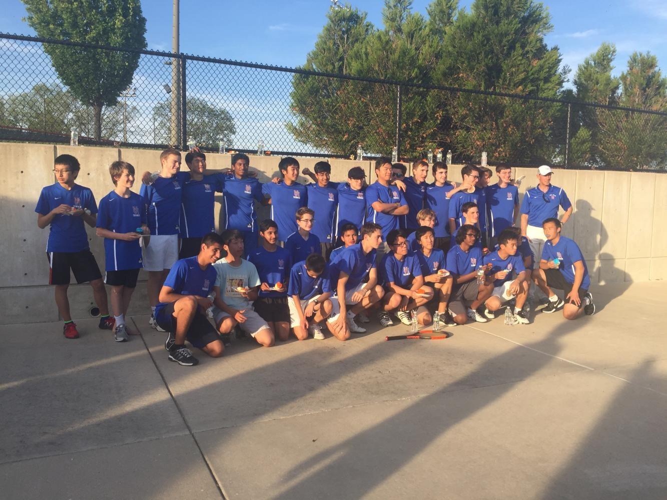 Boys Tennis Senior Night