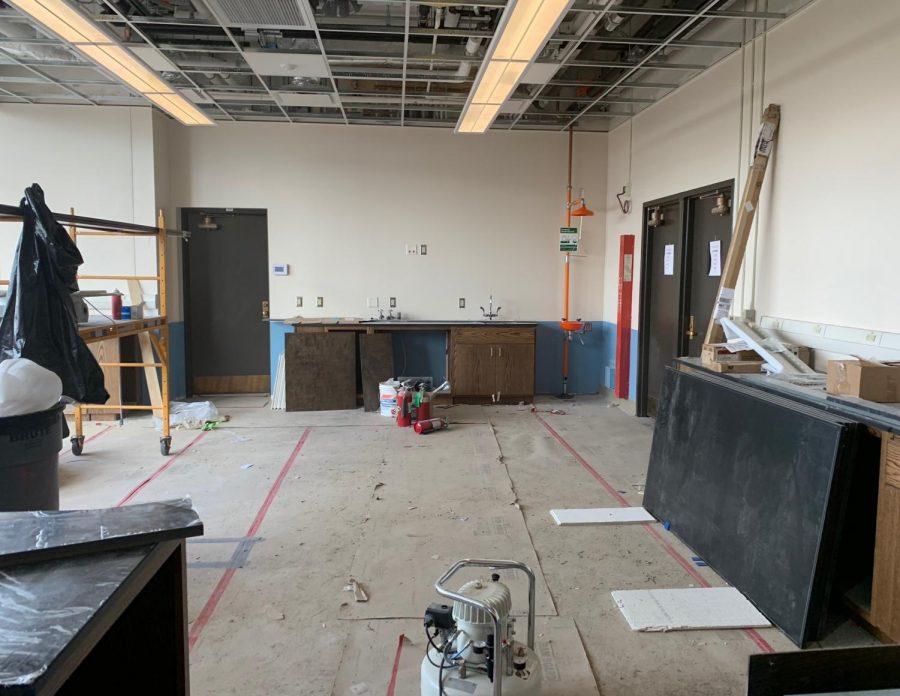 New chem lab ready December