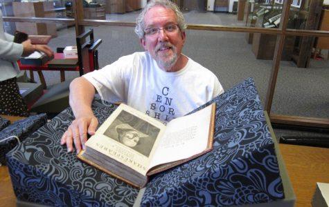 Retiring English teacher Stephen Rayburn reflects on his 16 years at Uni
