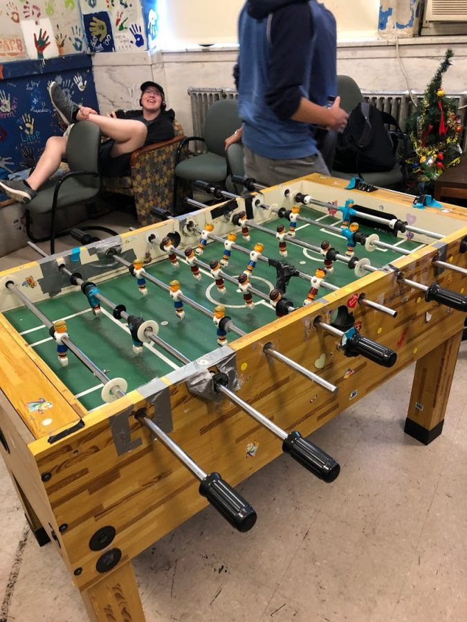 Foosball at Uni